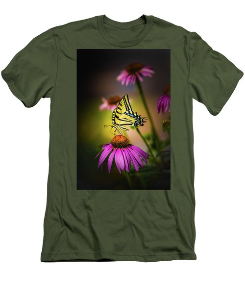 Papilio Men's T-Shirt (Slim Fit) by Jeffrey Jensen
