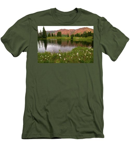 Men's T-Shirt (Slim Fit) featuring the photograph Paradise Basin by Steve Stuller