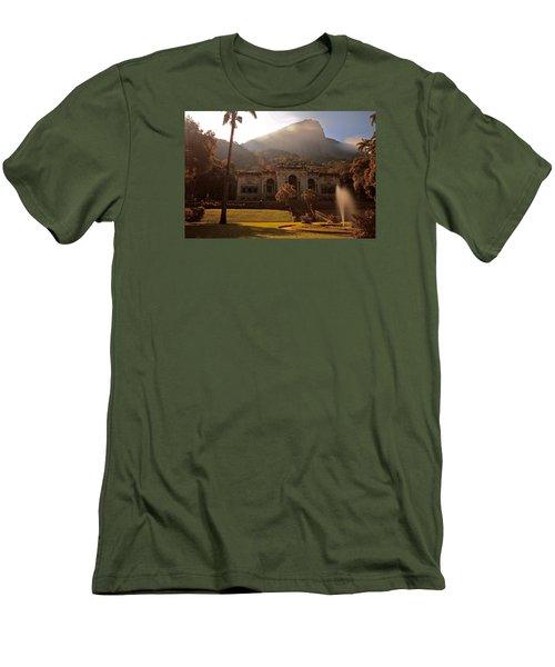 Parque De Lague Men's T-Shirt (Slim Fit) by Mark Nowoslawski