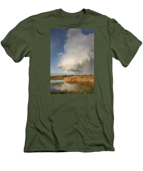 Passing Late Afternoon Rain Shower Men's T-Shirt (Athletic Fit)