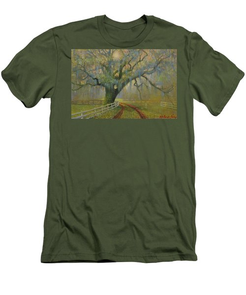 Passing Spring Shower Men's T-Shirt (Slim Fit) by Blue Sky