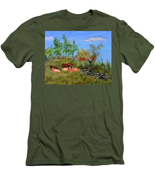 Pasteurized Men's T-Shirt (Athletic Fit)