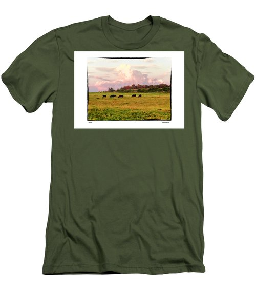 Pasture Men's T-Shirt (Slim Fit) by R Thomas Berner
