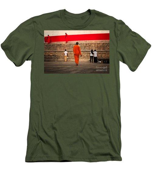Path Men's T-Shirt (Athletic Fit)