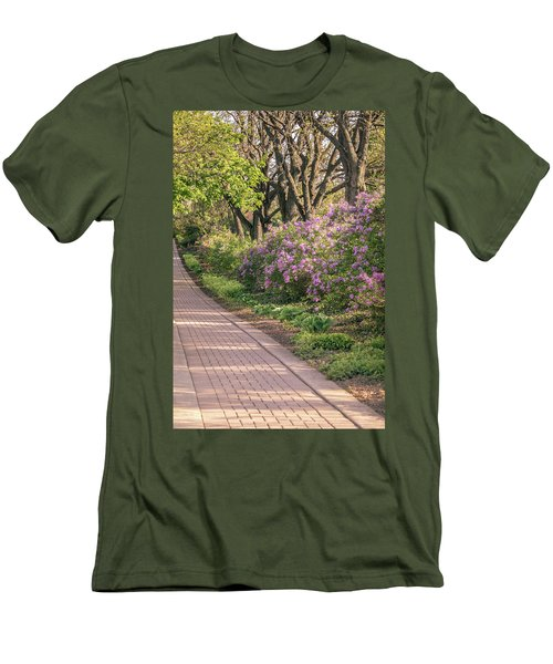 Pathway To Beauty In Lombard Men's T-Shirt (Athletic Fit)