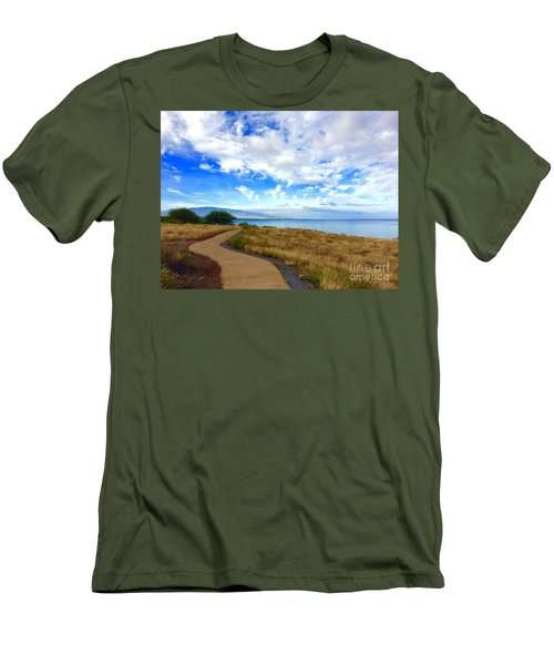 Pathway To Heaven Men's T-Shirt (Athletic Fit)