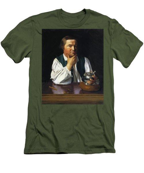 Paul Revere 1770 Men's T-Shirt (Athletic Fit)