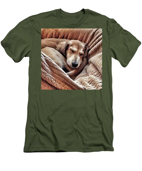 Peace At Last #saluki Men's T-Shirt (Athletic Fit)