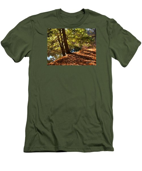 Men's T-Shirt (Slim Fit) featuring the photograph Peace On Earth by Betsy Zimmerli