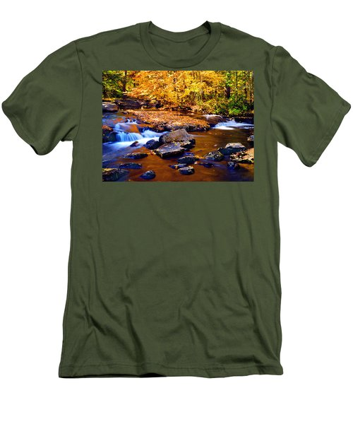 Peaceful Autumn Afternoon  Men's T-Shirt (Athletic Fit)