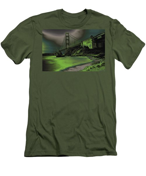 Peaceful Eerie Feeling Men's T-Shirt (Athletic Fit)