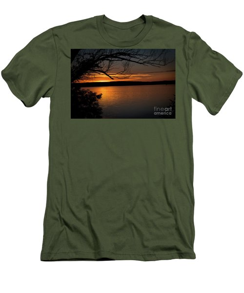 Peaceful Nights Men's T-Shirt (Athletic Fit)
