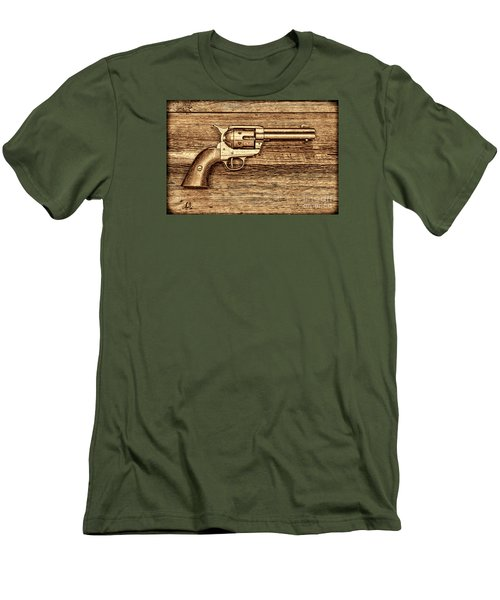 Peacemaker Men's T-Shirt (Slim Fit) by American West Legend By Olivier Le Queinec