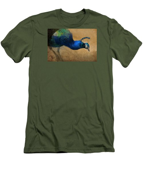 Peacock Light Men's T-Shirt (Athletic Fit)