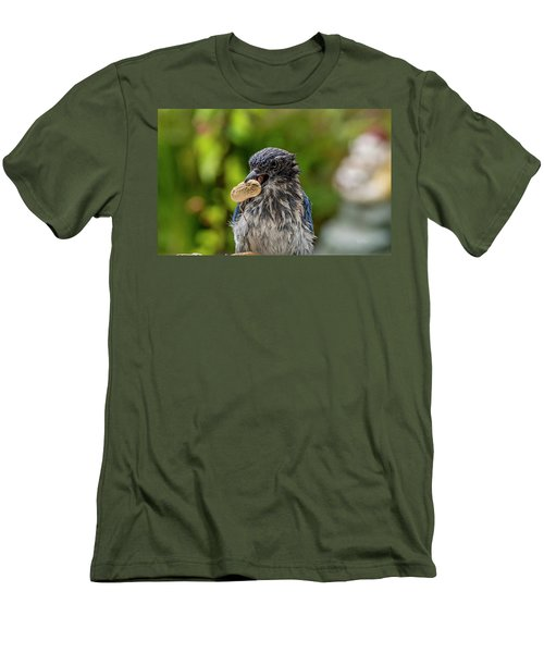 Peanut Hunter Men's T-Shirt (Athletic Fit)