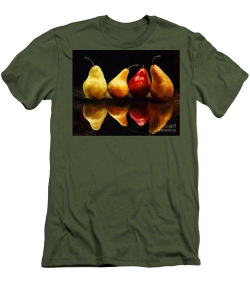 Pearsfect Men's T-Shirt (Slim Fit)