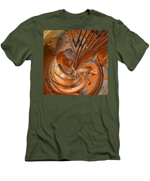 Peeled Men's T-Shirt (Slim Fit) by Ron Bissett