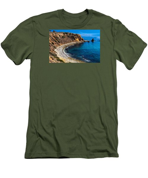 Pelican Cove Men's T-Shirt (Slim Fit) by Ed Clark