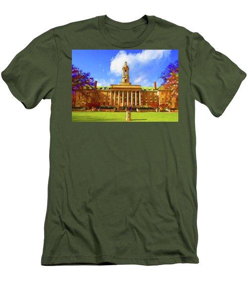 Penn State University Men's T-Shirt (Athletic Fit)