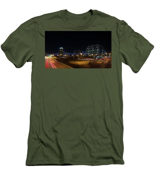 Penn's Landing Men's T-Shirt (Slim Fit) by Leeon Pezok