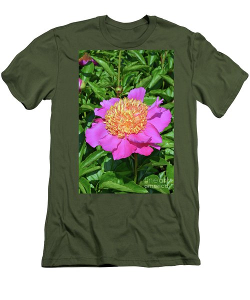 Peony 10 Men's T-Shirt (Slim Fit) by Eva Kaufman