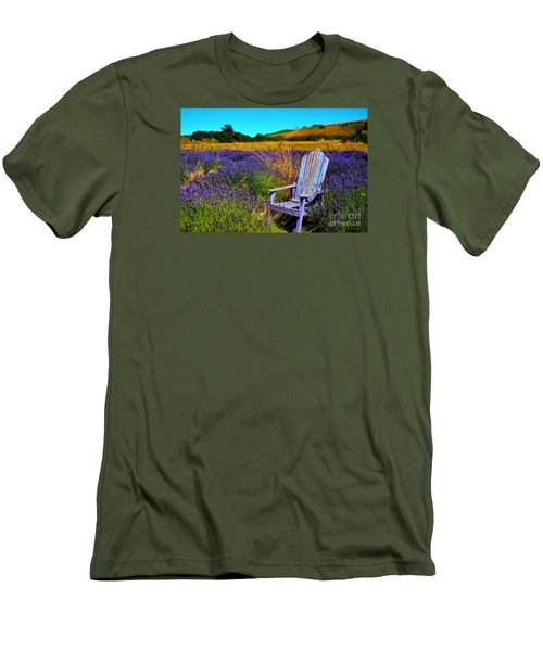 Perfect Purple  Men's T-Shirt (Slim Fit) by Tanya  Searcy