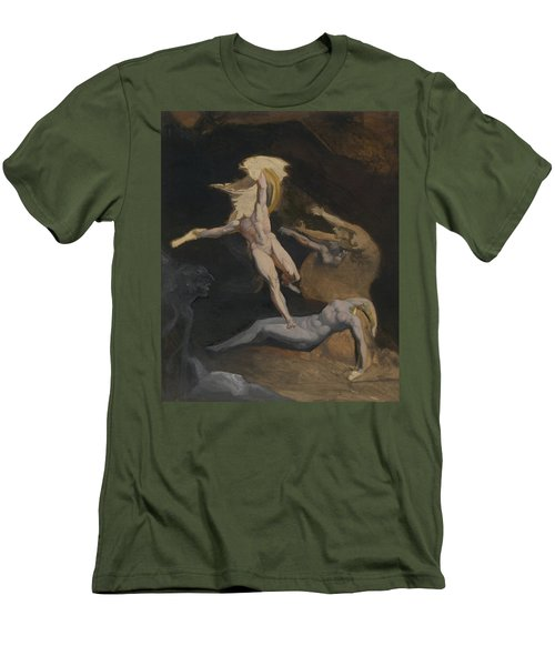 Perseus Slaying The Medusa Men's T-Shirt (Slim Fit) by Henry Fuseli