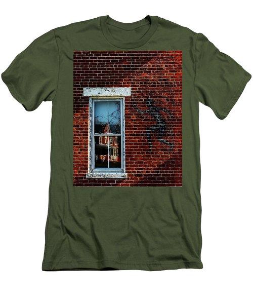 Peter Pan's Shadow Men's T-Shirt (Athletic Fit)