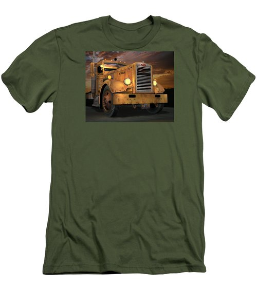 Peterbilt Ol Yeller Men's T-Shirt (Athletic Fit)