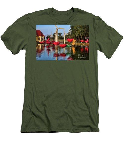 Phan Thiet Sudi Resort 2 Men's T-Shirt (Slim Fit) by Chuck Kuhn