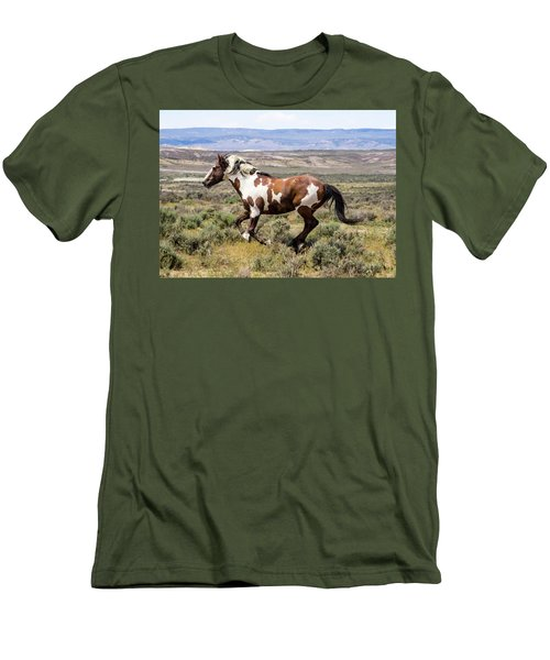 Picasso - Free As The Wind Men's T-Shirt (Slim Fit) by Nadja Rider