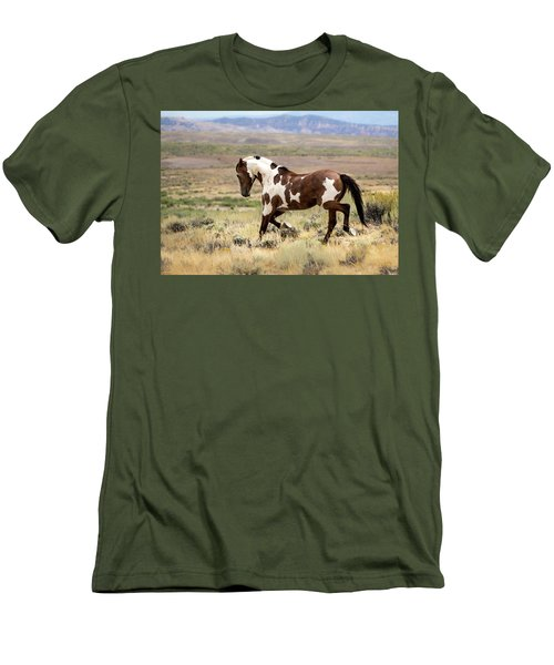 Picasso Strutting His Stuff Men's T-Shirt (Slim Fit) by Nadja Rider