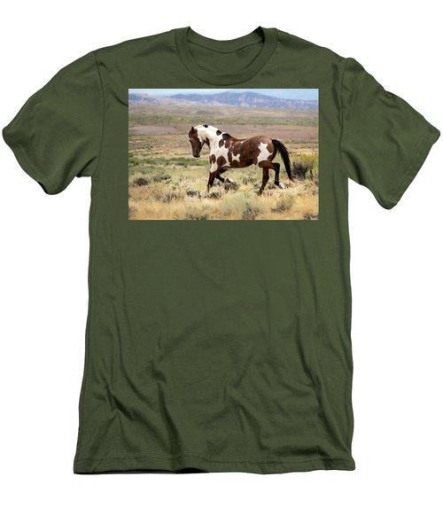 Picasso Strutting His Stuff Men's T-Shirt (Athletic Fit)