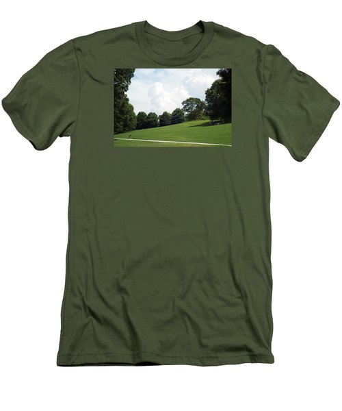 Piedmont Park Men's T-Shirt (Slim Fit) by Jake Hartz