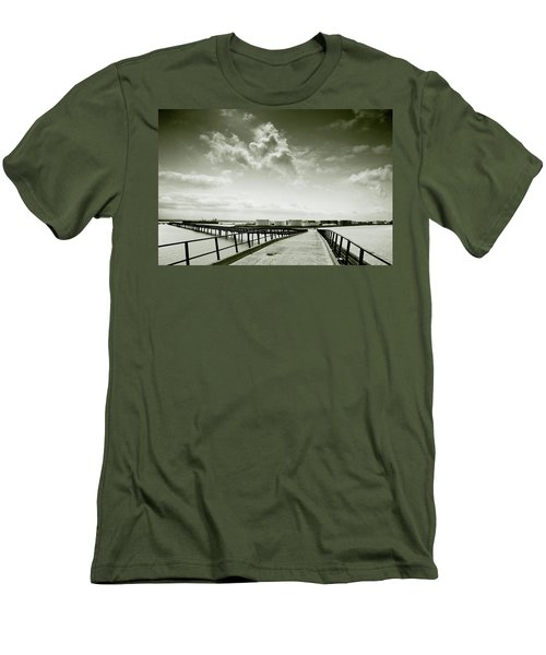 Pier-shaped Men's T-Shirt (Slim Fit) by Joseph Westrupp