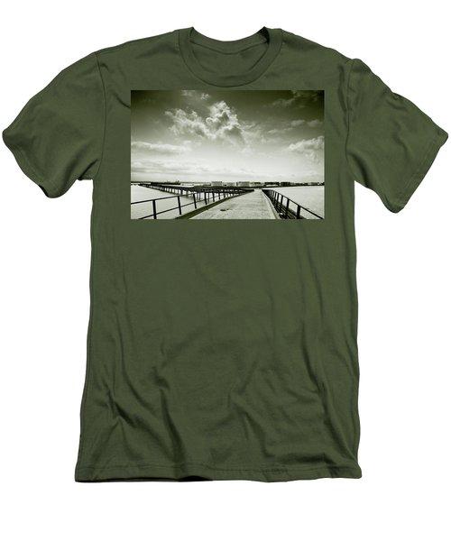 Pier-shaped Men's T-Shirt (Athletic Fit)