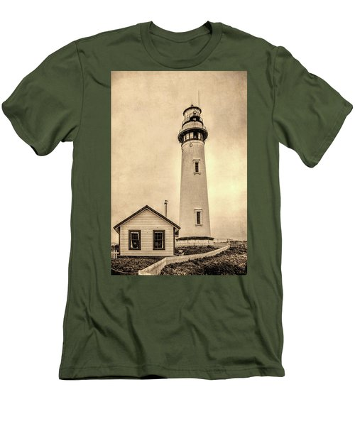 Pigeon Point Light Station Pescadero California Men's T-Shirt (Athletic Fit)