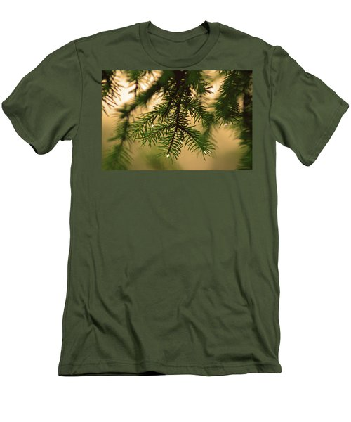 Men's T-Shirt (Slim Fit) featuring the photograph Pine by Robert Geary