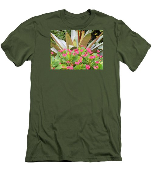 Pink And Spiky Men's T-Shirt (Slim Fit) by Kay Gilley