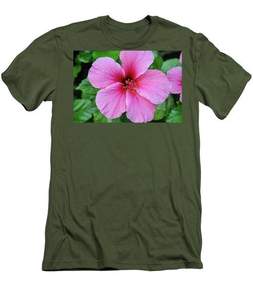 Pink Lugonia Men's T-Shirt (Athletic Fit)