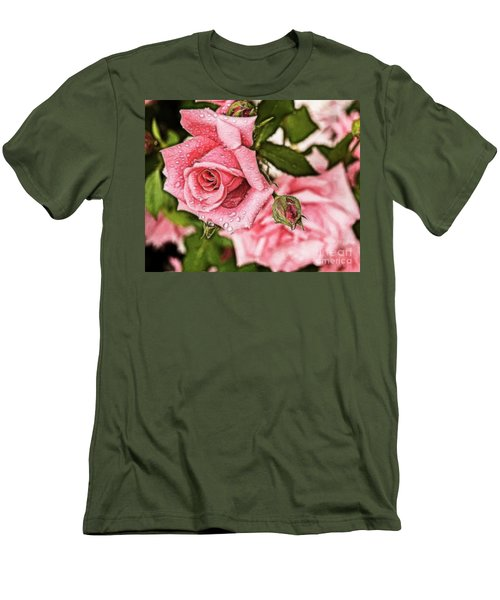 Pink Serenity Men's T-Shirt (Athletic Fit)