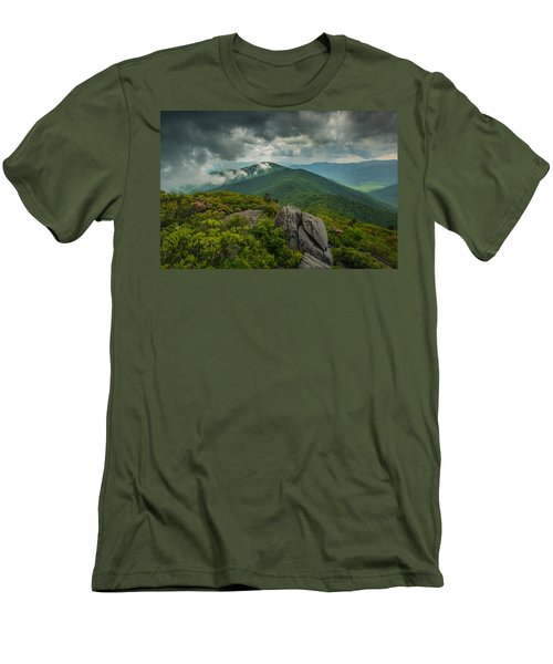 Men's T-Shirt (Athletic Fit) featuring the photograph Pinnacle by Joye Ardyn Durham
