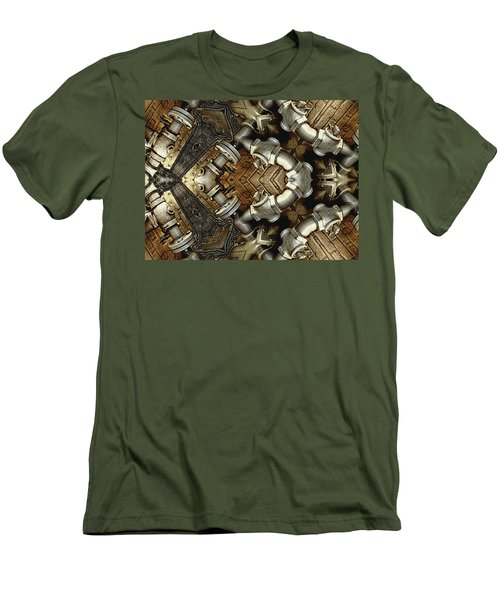 Pipe Dreams Men's T-Shirt (Slim Fit) by Wendy J St Christopher
