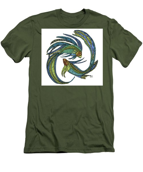Pisces Men's T-Shirt (Athletic Fit)