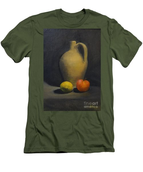Pitcher This Men's T-Shirt (Slim Fit) by Genevieve Brown