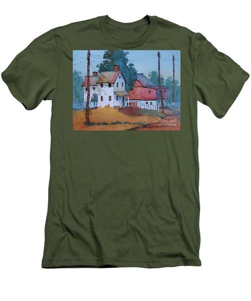 Plain And Simple Men's T-Shirt (Athletic Fit)