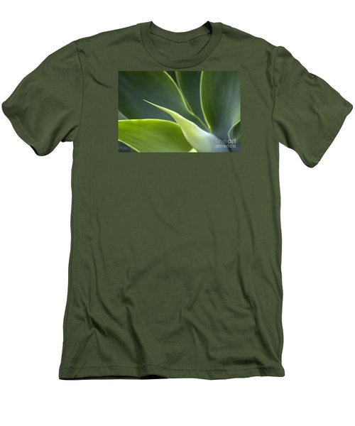 Plant Abstract Men's T-Shirt (Slim Fit) by Tony Cordoza