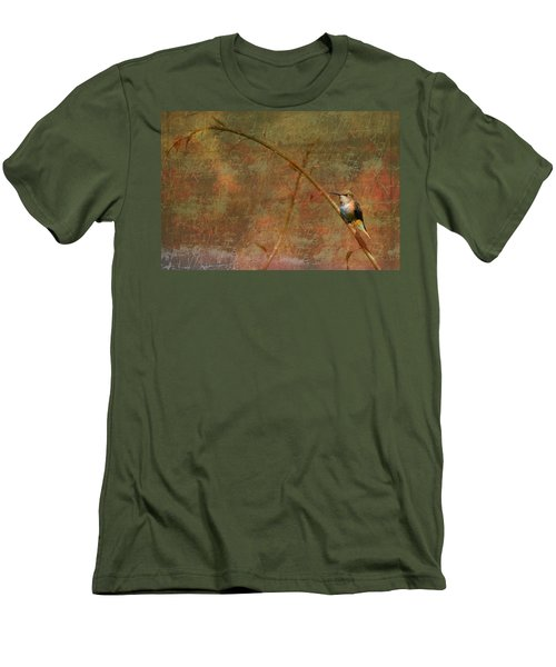 Plate 225 - Hummingbird Grunge Series Men's T-Shirt (Athletic Fit)