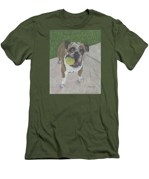Play With Me Men's T-Shirt (Slim Fit) by Arlene Crafton