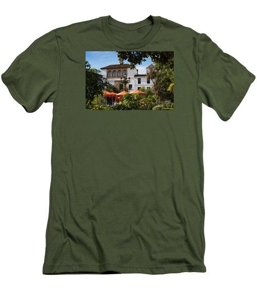 Plaza De Naranjas Men's T-Shirt (Athletic Fit)